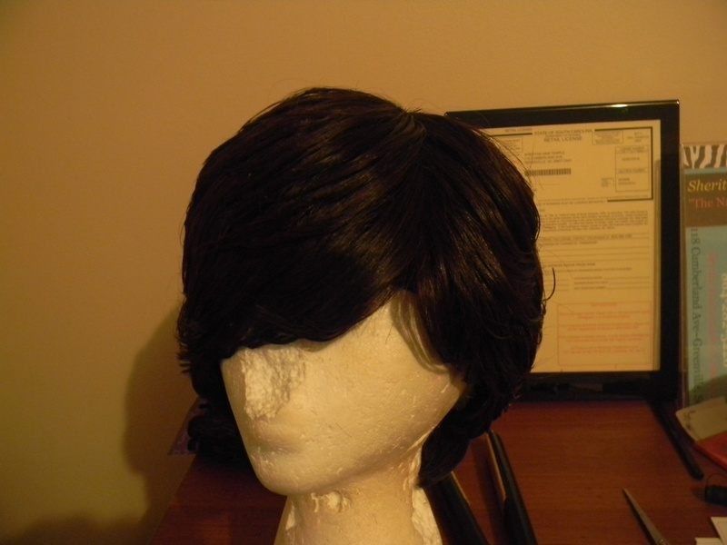 Frontview Of Duby Layered Wig