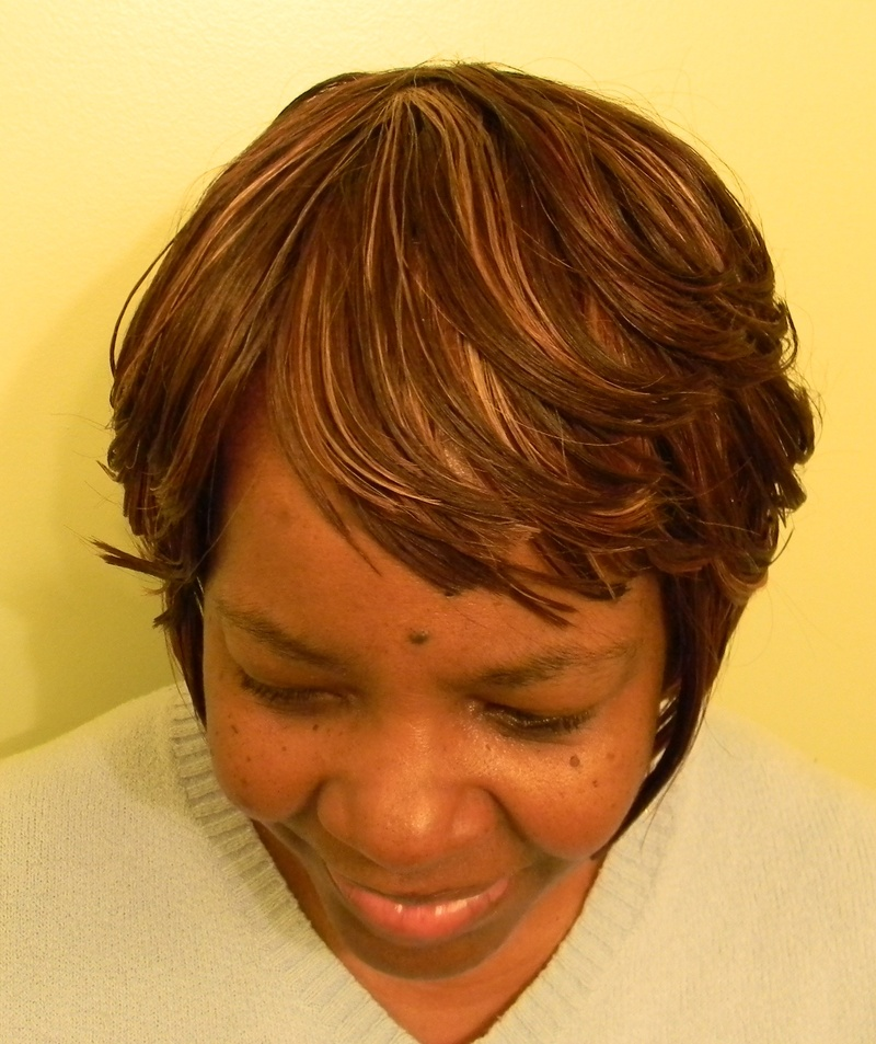 Bob Layered Front TopView