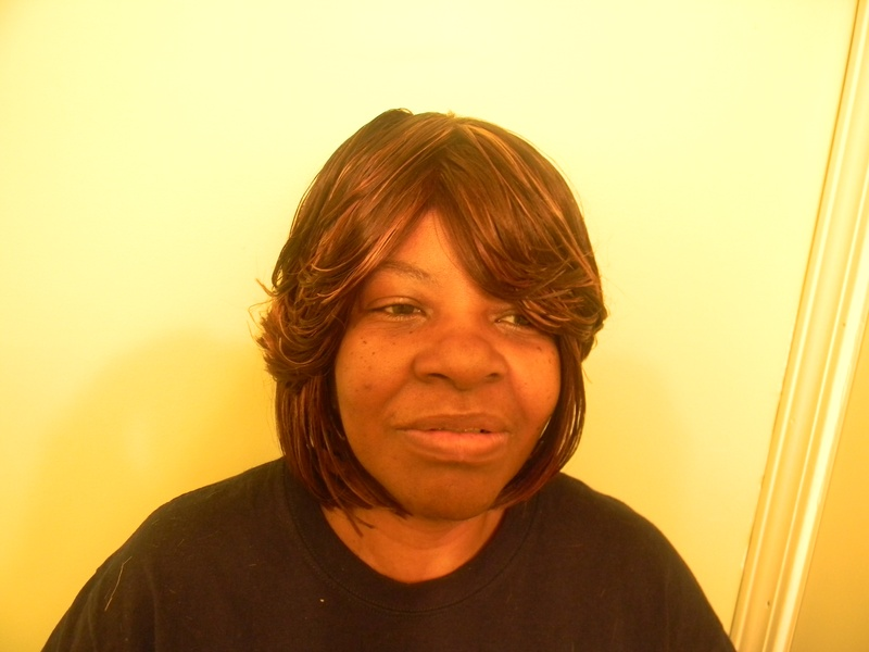 FrontView of Naturally Treated Wig
