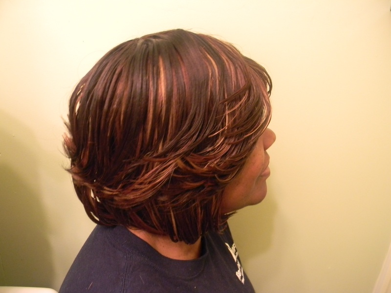 Naturally Treated Handmade wig SideView